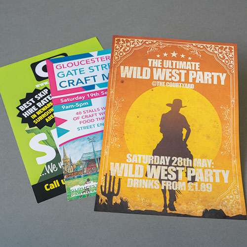 Bournemouth printing company - Gloss and silk leaflet printing in Bournemouth